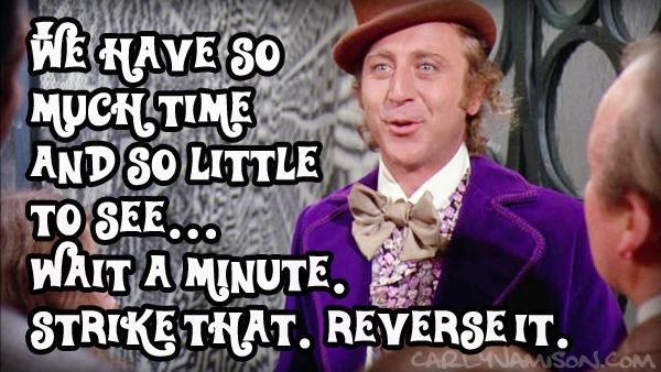 willy wonka wants you to take the writing course